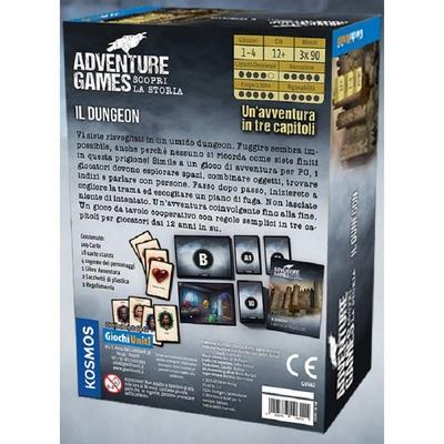 ADVENTURE GAMES : IL DUNGEON Gioco da Tavolo