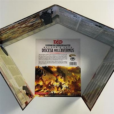 D&D 5ED : DISCESA NELL'AVERNUS SCHERMO DEL DM Accessorio Gioco di Ruolo
