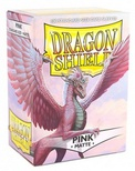 100 Sleeves Dragon Shield Magic MATTE PINK Bustine Protettive
