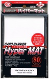 80 Card Barrier Kmc Magic HYPER MAT WHITE Bianco Bustine Protettive Buste 66x91