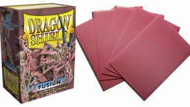 100 Sleeves Dragon Shield STANDARD FUSION Bustine Protettive Magic Buste