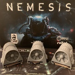NEMESIS : Set 3 Motori Astronave 3D SpaceShip Engine Token Sci-fi Deluxe