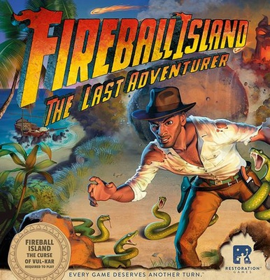 FIREBALL ISLAND THE CURSE OF VUL-KAR - The Last Adventurer Gioco da Tavolo