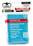 80 Supreme Sleeves Ultimate Guard Magic LIGHT BLUE Bustine Protettive CELESTE