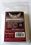 50 Card Sleeves Mayday PREMIUM MINI CHIMERA 43x65 Bustine Protettive Giochi da Tavolo Buste