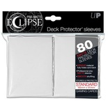 80 Sleeves Ultra Pro ECLIPSE PRO MATTE Bianco Bustine Protettive White