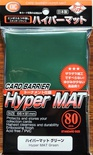80 Card Barrier Kmc Magic HYPER MAT GREEN Verde Bustine Protettive Buste 66x91