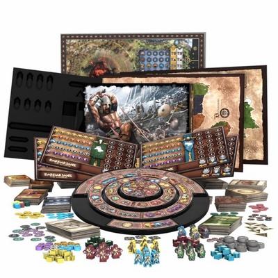BARBARIANS : THE INVASION 2ND EDITION (Kickstarter Version Meeples) Gioco da Tavolo