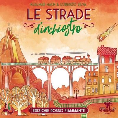 LE STRADE D'INCHIOSTRO : ROSSO FIAMMANTE Gioco da Tavolo (Railroad Ink)