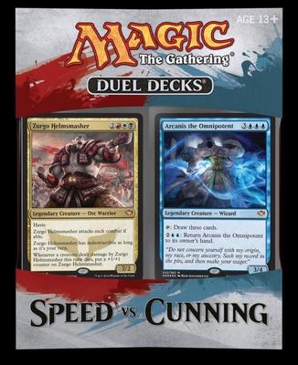 Duel Decks Magic Speed vs. Cunning 2 Deck Mazzo Duello Inglese