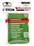 80 Supreme Sleeves Ultimate Guard Magic GREEN Bustine Protettive VERDE