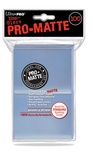 100 Sleeves Ultra Pro Magic PRO MATTE STANDARD CLEAR Trasparenti  Bustine Protettive