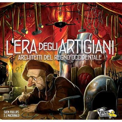ARCHITETTI DEL REGNO OCCIDENTALE : L'ERA DEGLI ARTIGIANI Espansione Gioco da Tavolo