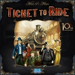 TICKET TO RIDE - 10TH ANNIVERSARY EDITION Gioco da Tavolo in Italiano