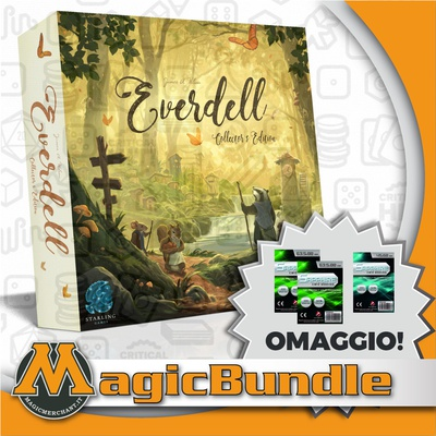EVERDELL : COLLECTOR'S EDITION Bundle Gioco da Tavolo + Protection Pack