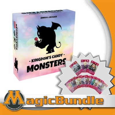 Kingdom's Candy Monsters: Bundle Base + Espansione + Promo