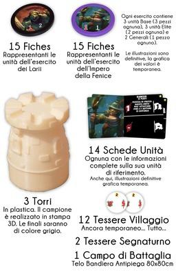 WARSTONES (GameBooster Edition) Gioco da Tavolo