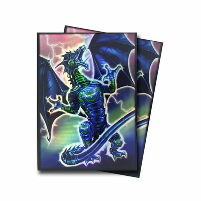 50 Deck Protector Sleeves Max Protection Magic ROBO FURY Bustine Protettive Buste