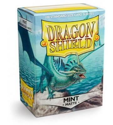 100 Sleeves Dragon Shield Magic MATTE MINT Bustine Protettive Verde Menta Buste
