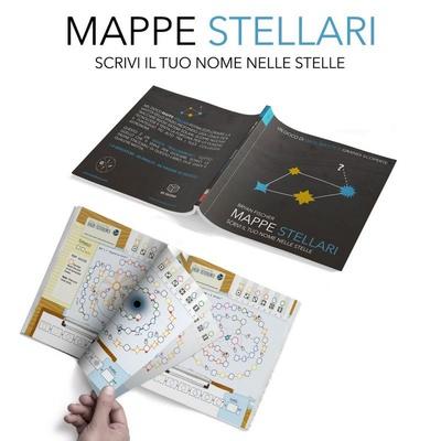 MAPPE STELLARI Gioco da Tavolo Librogame