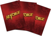 40 Sleeves KEYFORGE RED LOGO Bustine Protettive