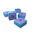 AZUL : TILE SET 2 (TEAL) Promo