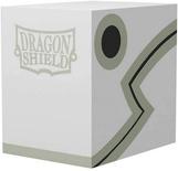 DRAGON SHIELD Double Deck Shell White/Black Porta Mazzo