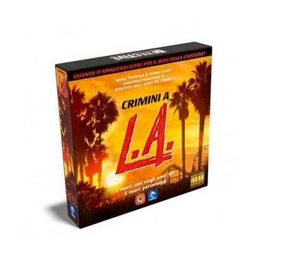 DETECTIVE : CRIMINI A L.A. Espansione Gioco da Tavolo