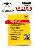 80 Supreme Sleeves Ultimate Guard Magic STANDARD YELLOW Bustine Protettive Giallo