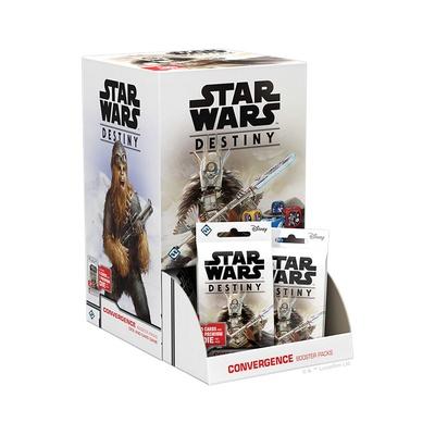 STAR WARS DESTINY : BOOSTER BOX CONVERGENZE Espansione Gioco da Tavolo