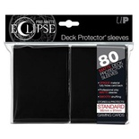 80 Sleeves Ultra Pro ECLIPSE PRO MATTE Nero Bustine Protettive Black
