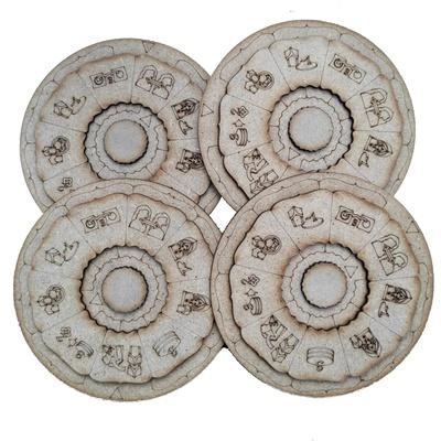 Maharaja: Wooden Action Discs