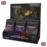 Box Magic FORGOTTEN REALMS 30 Buste Set Booster Display Inglese