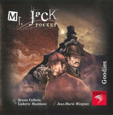 MR. JACK POCKET : GOODIES Espansione Gioco da Tavolo