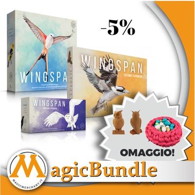Wingspan - Bundle Base + Espansioni + Accessori
