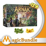 Le Rovine Perdute di Arnak: Bundle Base + Monete e Token Deluxe