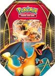 Pokemon Tin da collezione Trio del Potere Charizard EX Mazzo Deck Box Metallo