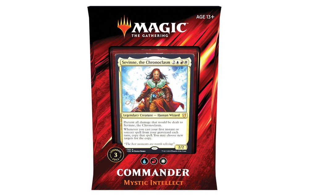 Mazzo Magic Commander 2019 MYSTIC INTELLECT Deck C19 Italiano