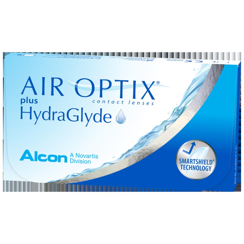 AIR OPTIX® plus HydraGlyde