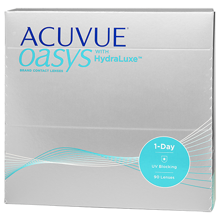 ACUVUE OASYS® 1-Day with HydraLuxe