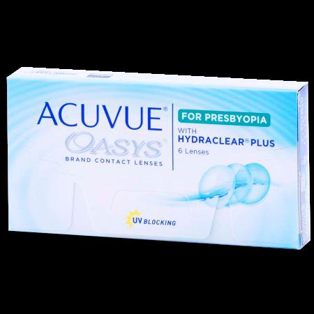 ACUVUE OASYS® for PRESBYOPIA