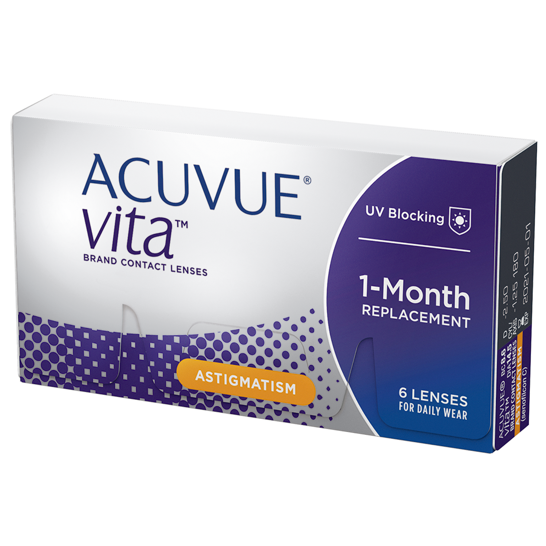 ACUVUE VITA® for Astigmatism
