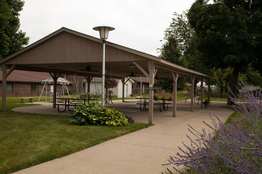 covered shelter ectc