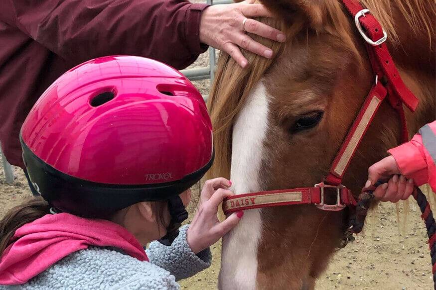 horse and child ectc