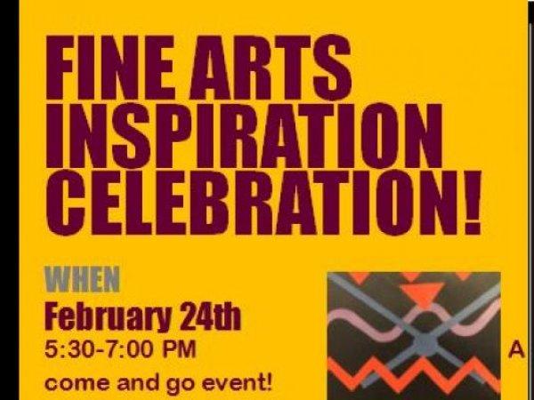 Fine Arts Inspiration Celebration