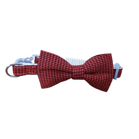Pequeño - Rojo Collar Corbatin / Agla