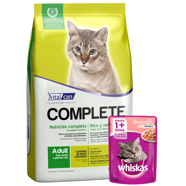 7.5Kg - Gato Castrado / Complete