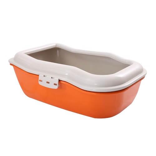 54x36x17 - Arenero Triple Naranja / Durapet