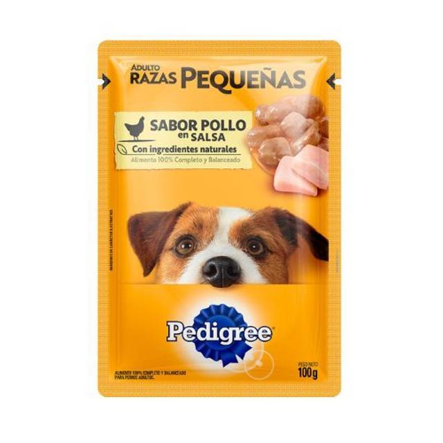 100gr - Adulto Raza Pequeña de Pollo / Pedigree