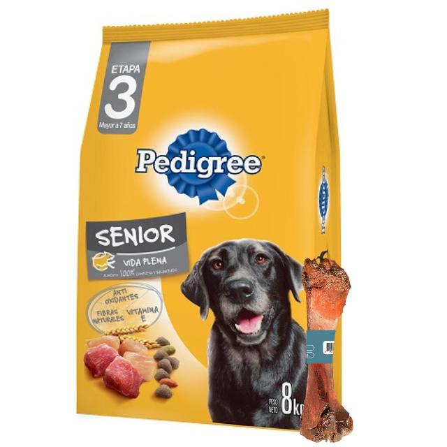 8kg - Senior (3ra Edad) / Pedigree